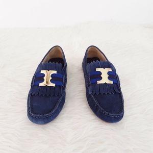 Tory Burch Shoes Women Size 6.5 Gemini Link Blue S